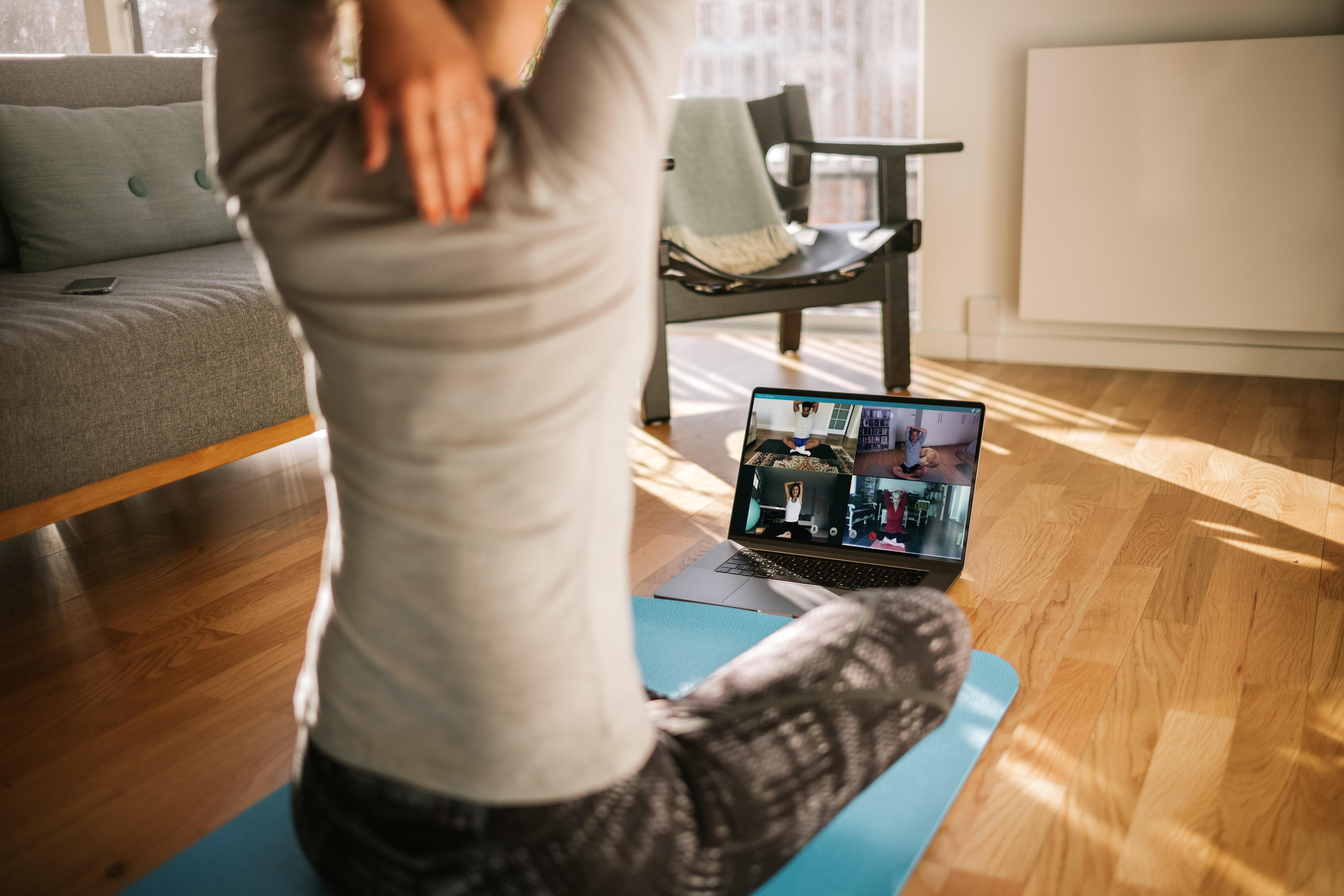 Online trening