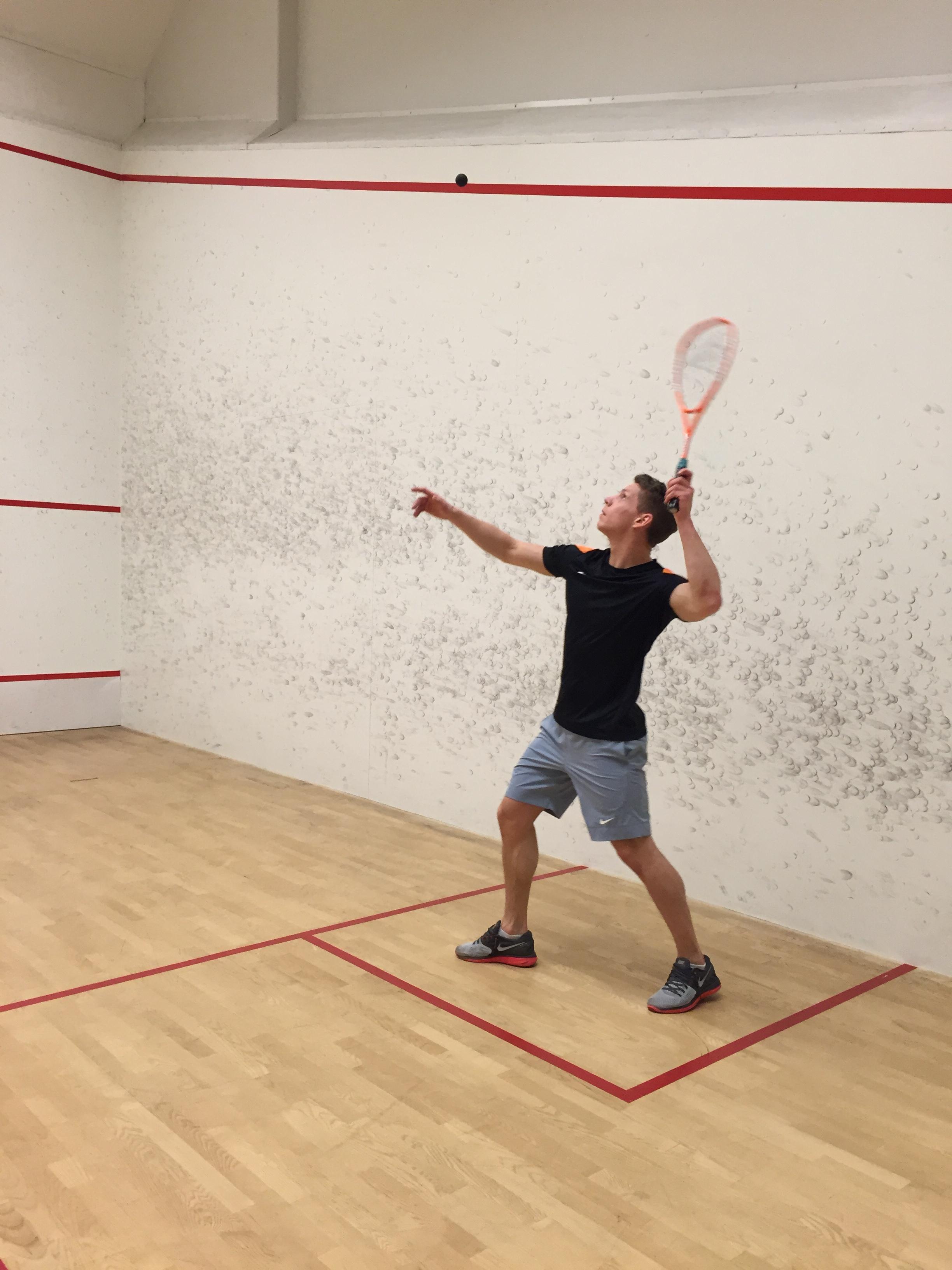 Squashspiller
